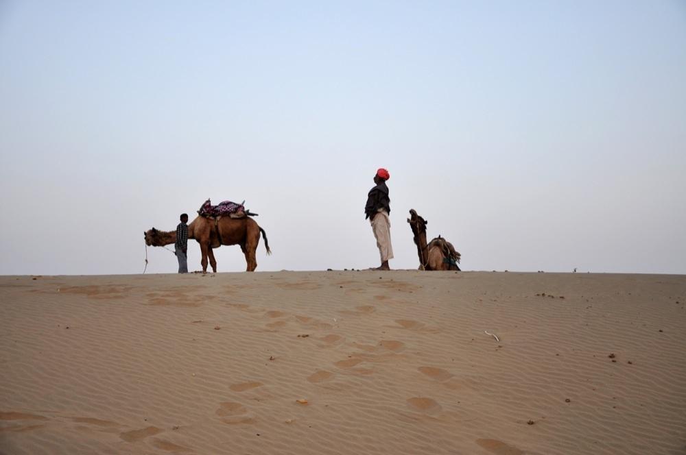 Kamelsafari in Khuri