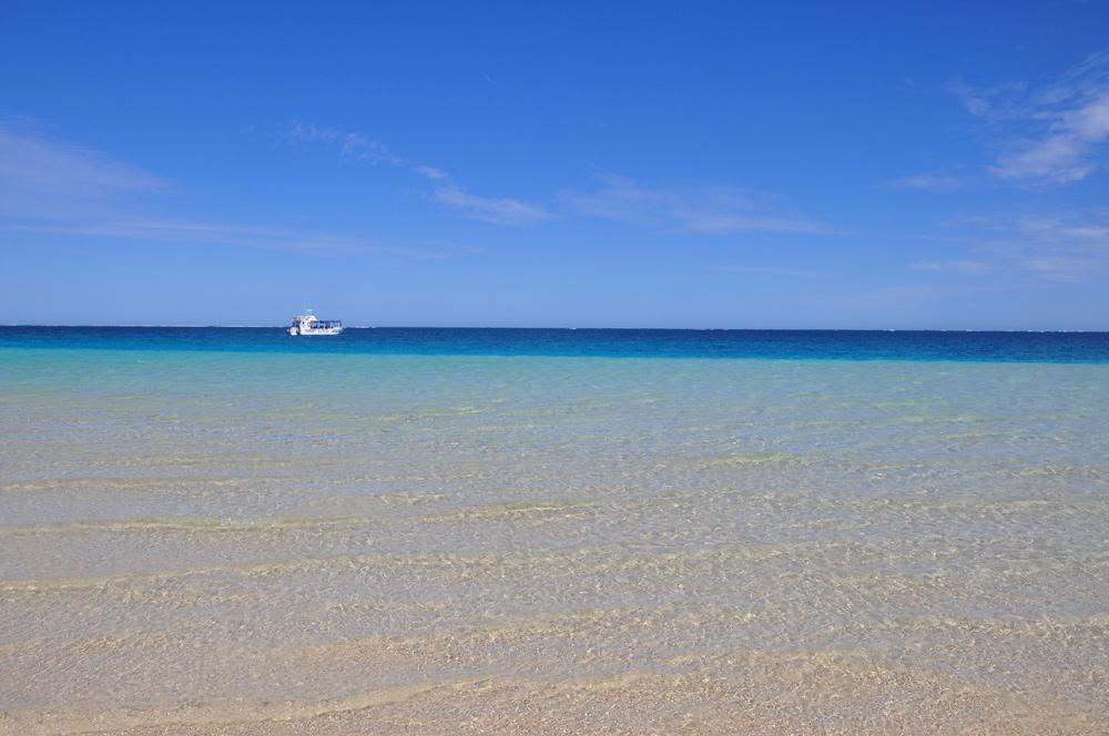 Gestrandet in Coral Bay