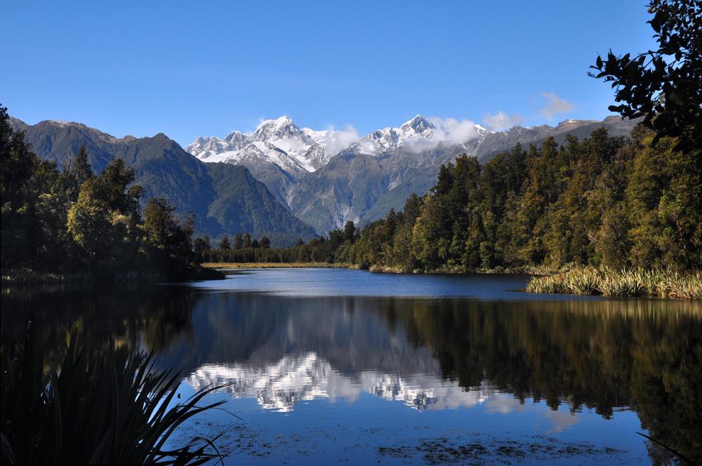 Auf der Suche nach dem Mirror Lake