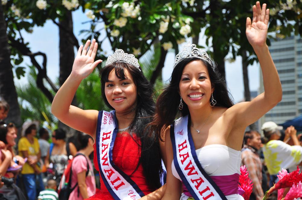 Kamehameha Day in Waikiki