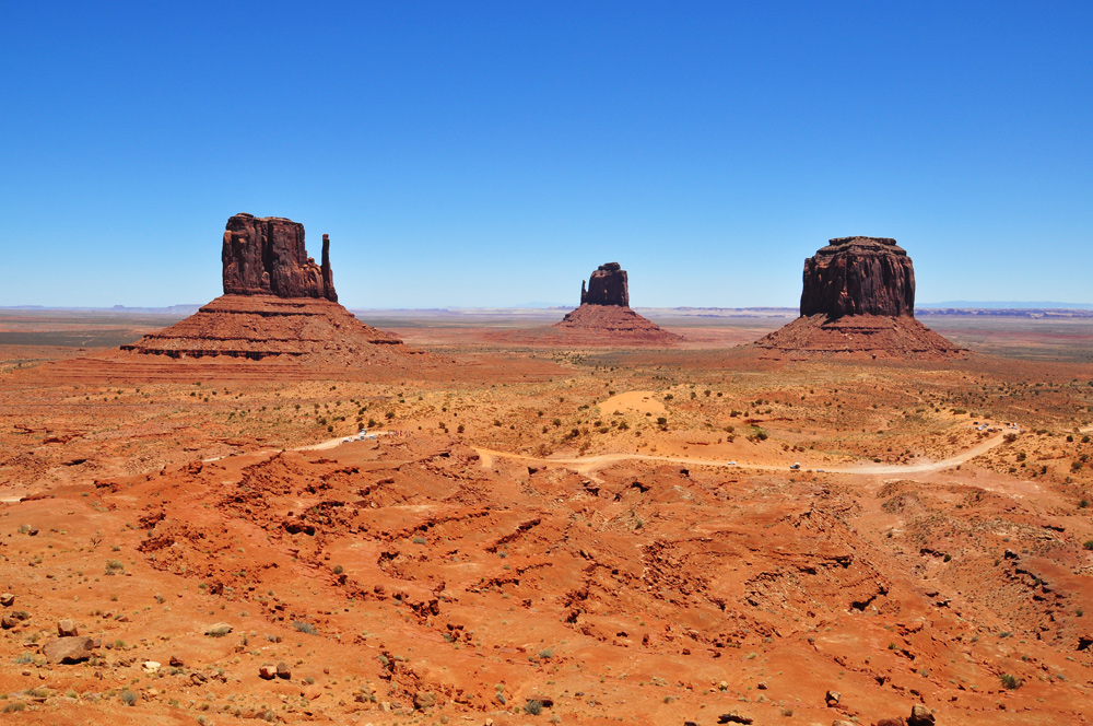 Monument Valley und der Mexican Hat