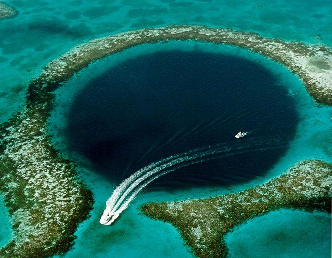 Tauchen im Blue Hole
