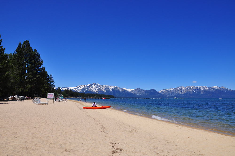 South Lake Tahoe und Sacramento