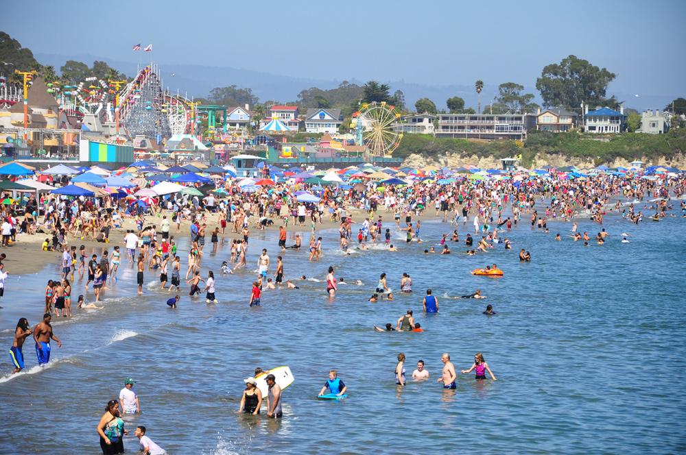 Der 4. Juli in Santa Cruz