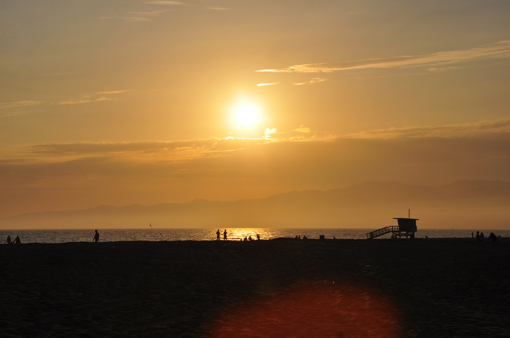 Los Angeles und Venice Beach