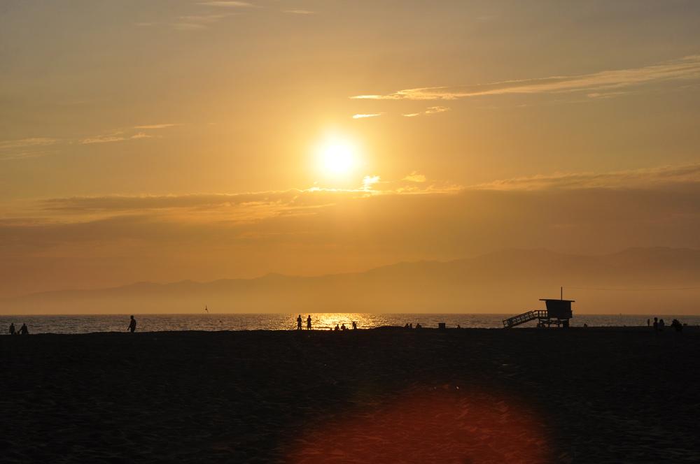 Los Angeles und Venice Beach