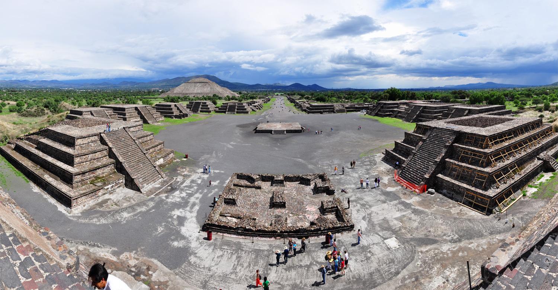 Mexiko City – Teotihuacán