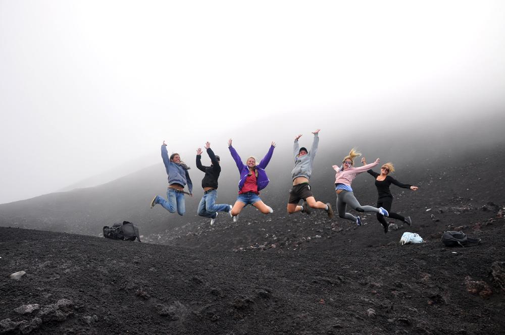 Der Vulkan Pacaya