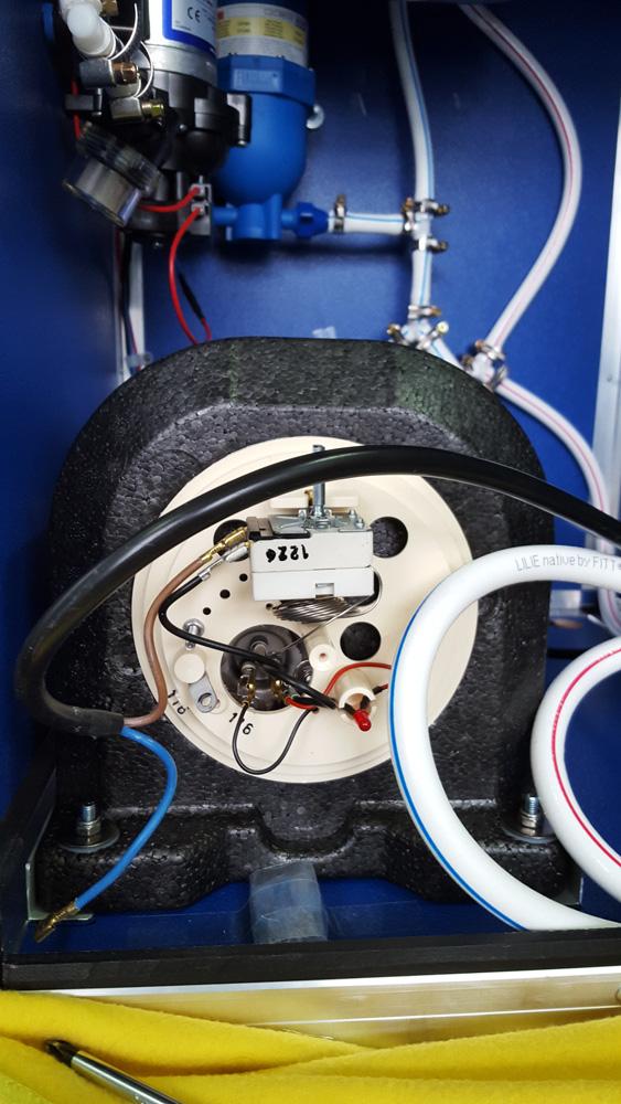 Boiler 12V Anschluss