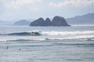 Surfen, Mawi, Lombok, Indonesien