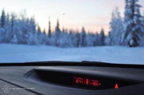 -30°C in Finnland