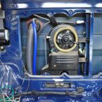 HZJ78 – Ausbau der Heck-Heizung