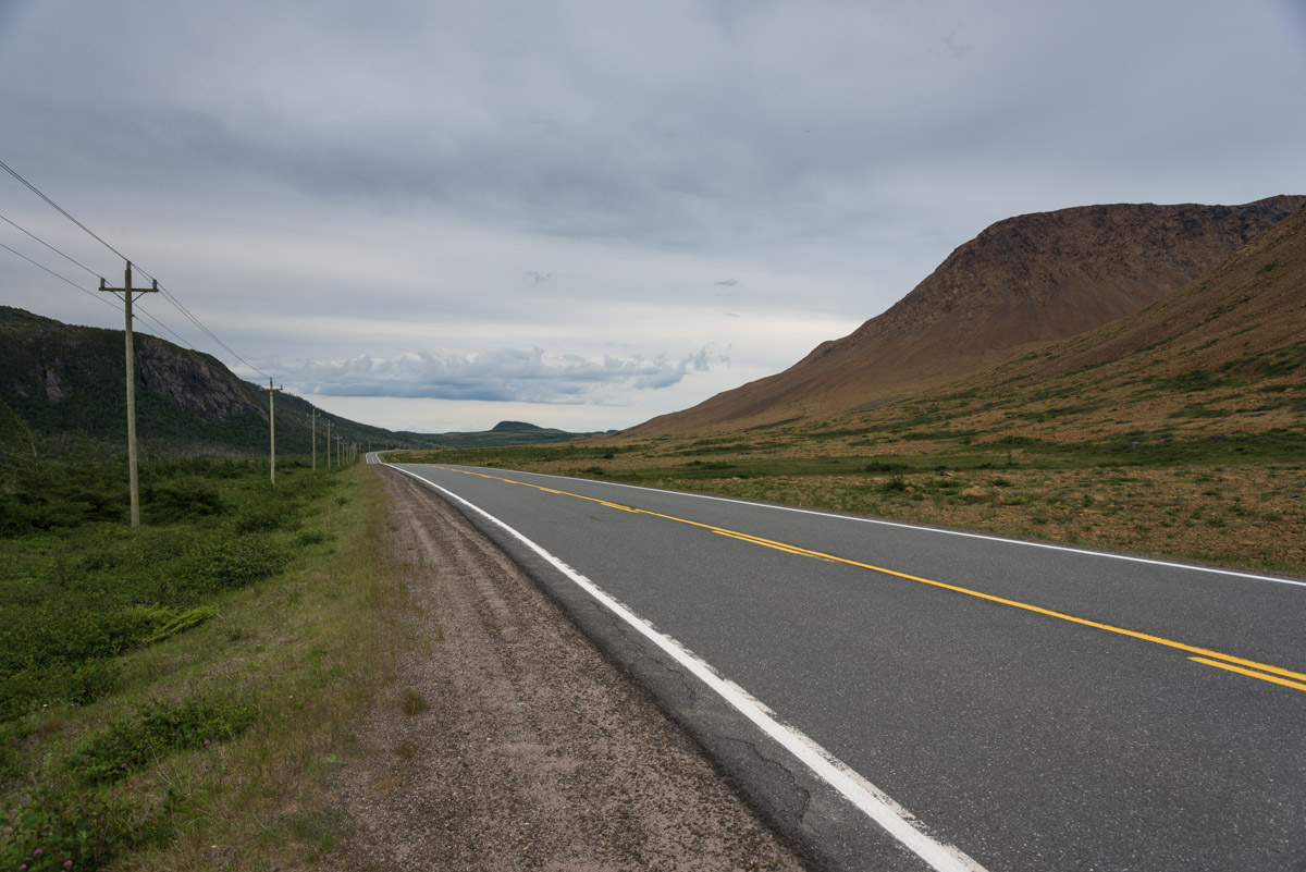 Die Tablelands im Gros Morne National Park
