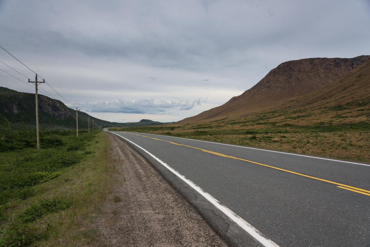 Die Tablelands im Gros Morne National Park