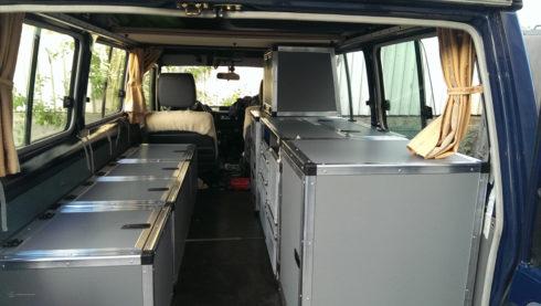 HZJ78 – Unser Innenausbau