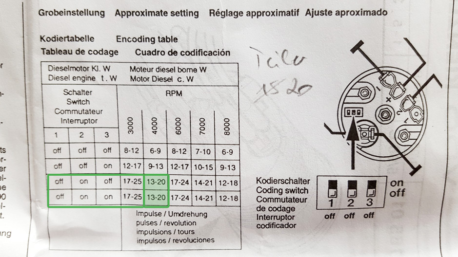 Ausgezeichnet Diesel Drehzahlmesser Schaltpläne Bilder - Elektrische ...