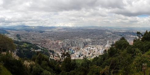 Monserrate Aussichtspunkt auf Bogota