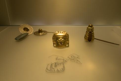 Das Goldmuseum in Bogota