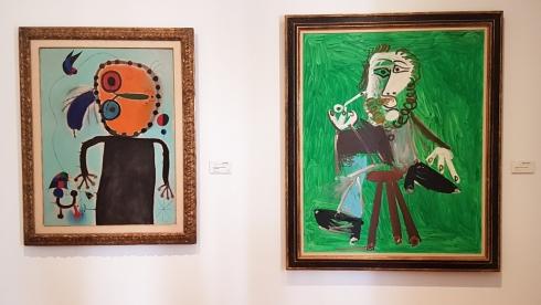 Miró und Picasso, Museum Botero in Bogota