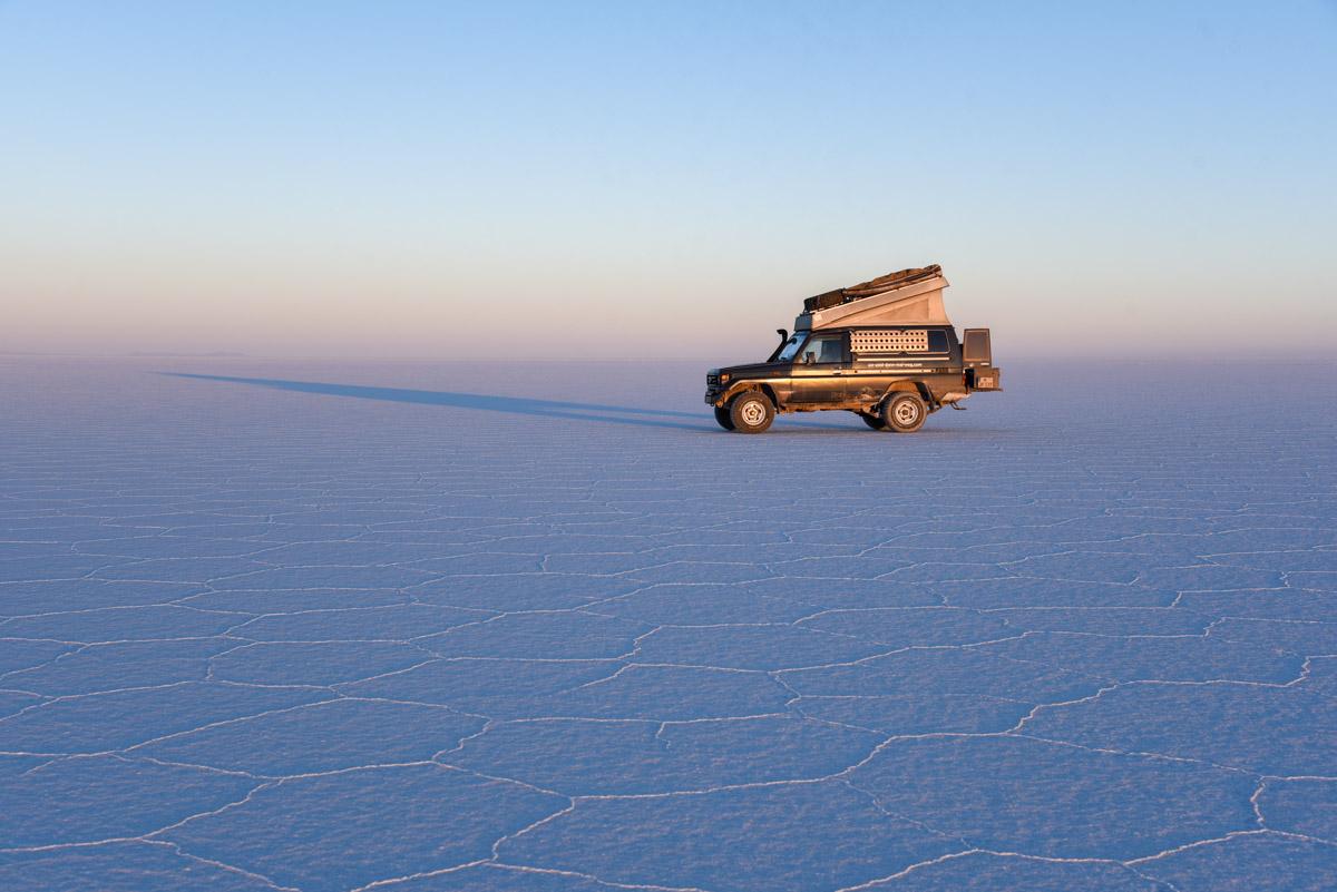 Salar de Uyuni Bolivien
