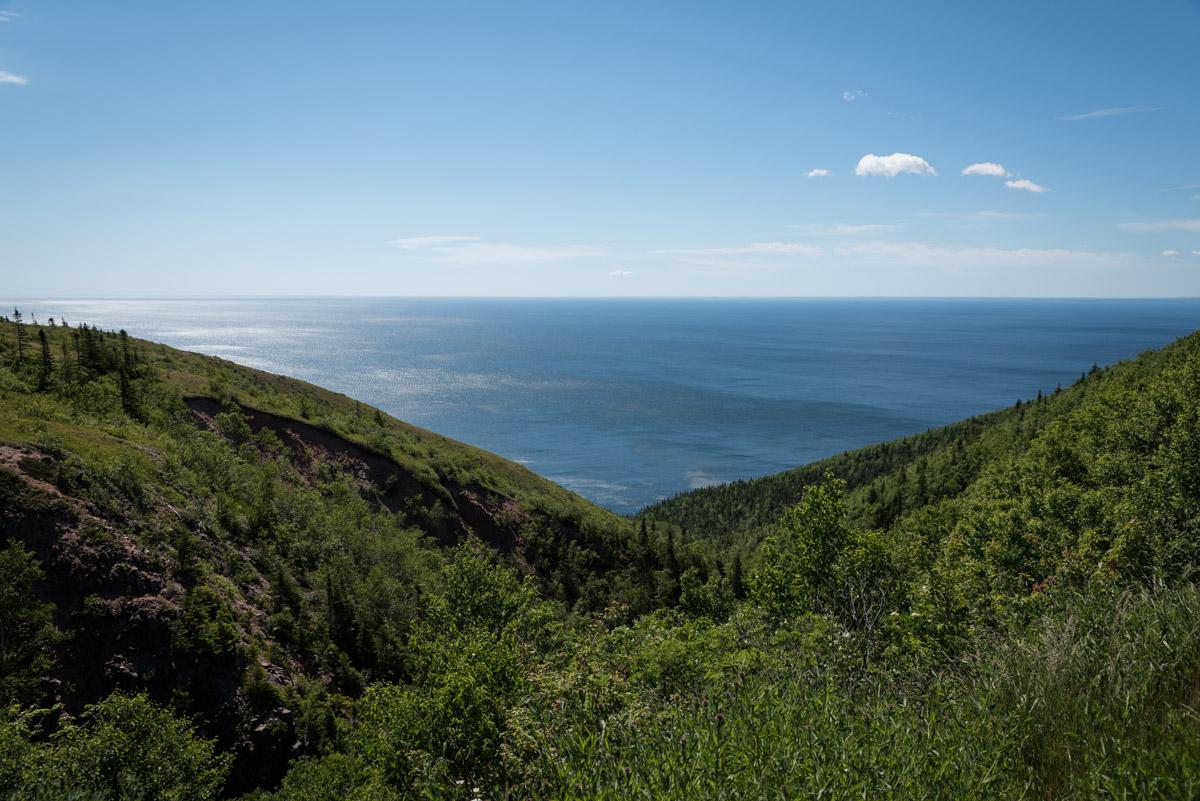 Ausblick vom Cabot Trail