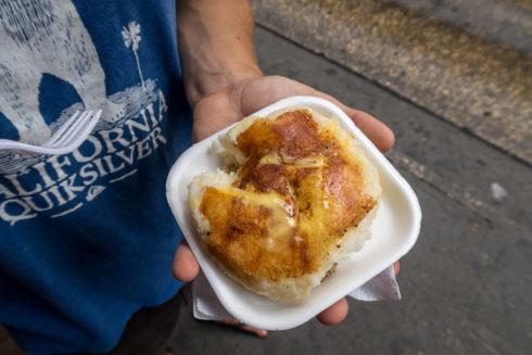 Arepa con Queso - Maiskuchen mit Käse