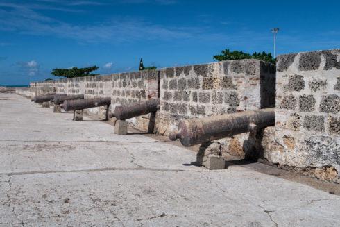 Die Stadtmauern von Cartagena