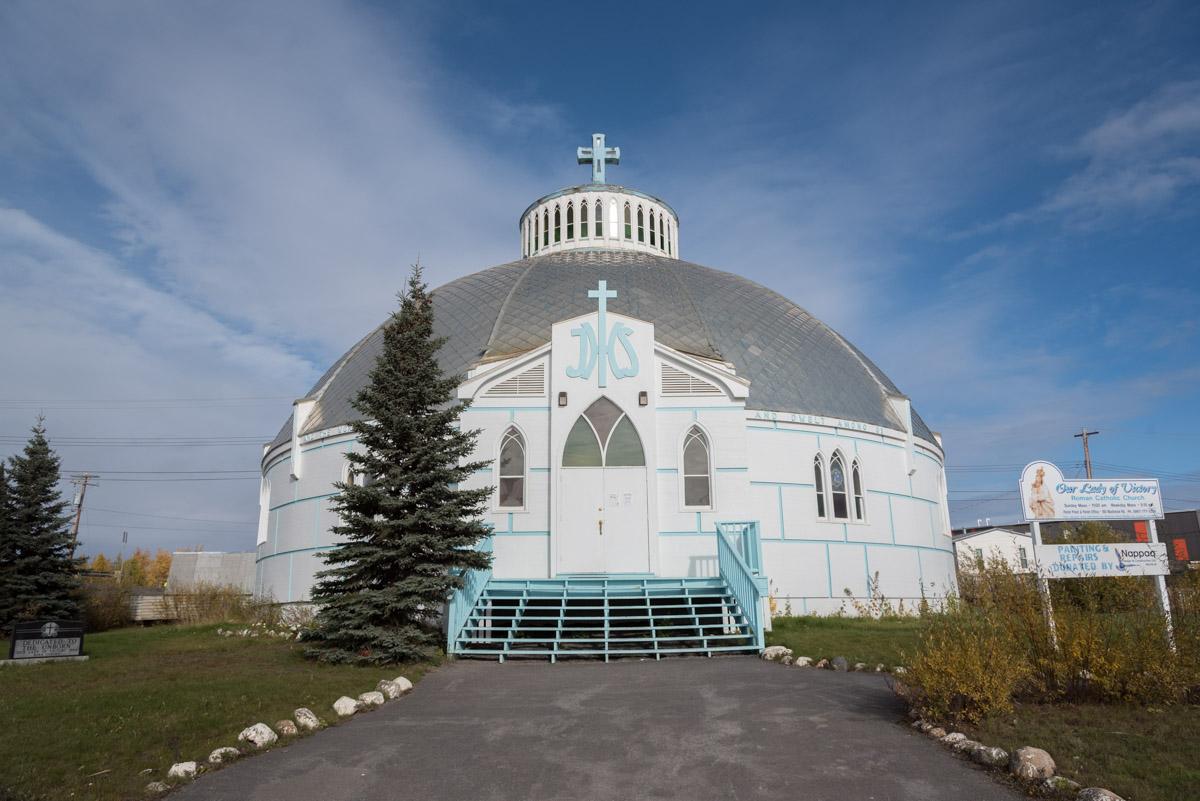 Die Iglukirche in Inuvik