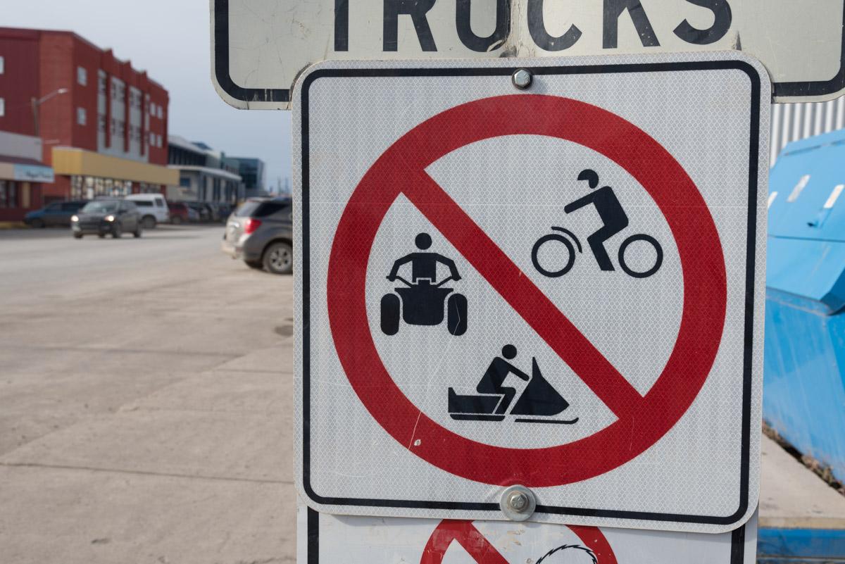 Quads und Schneemobile verboten