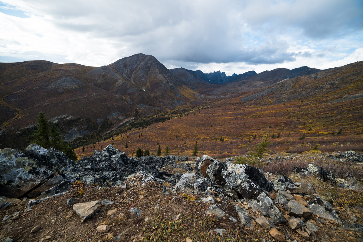 Grizzly Creek und Monolith Lookout Wanderung