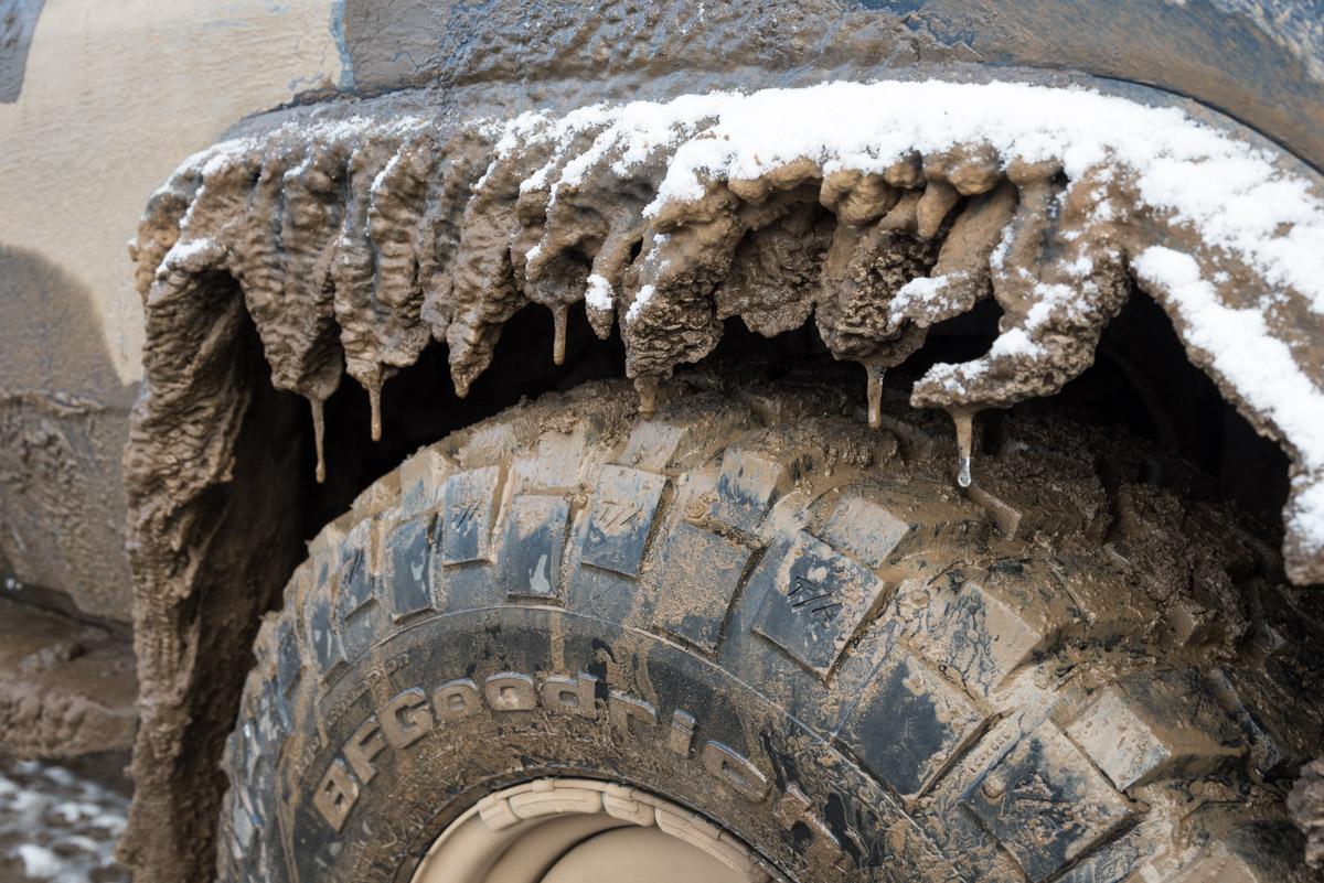 Es war nicht nur im Auto kalt