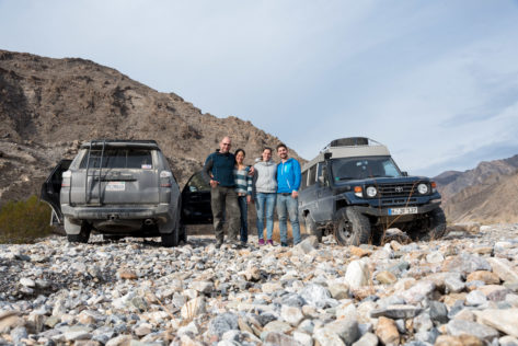 Campen im Trail Canyon