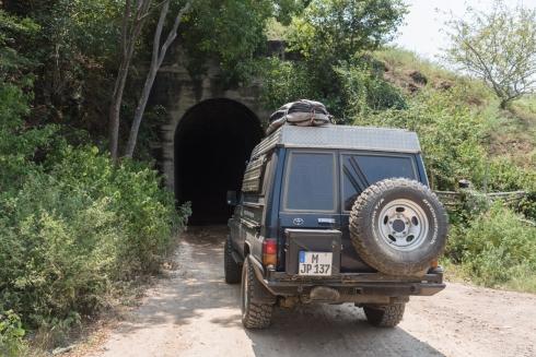 Nördliche Zufahrt zur Tatacoa Wüste