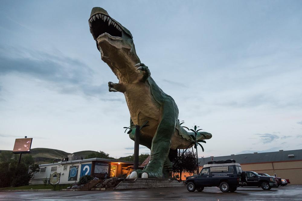 Der größte T-Rex der Welt in Drumheller