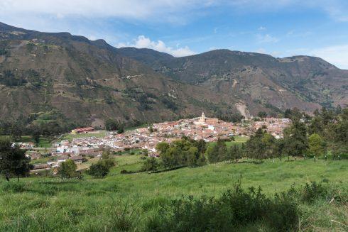 Das Dorf El Cocuy