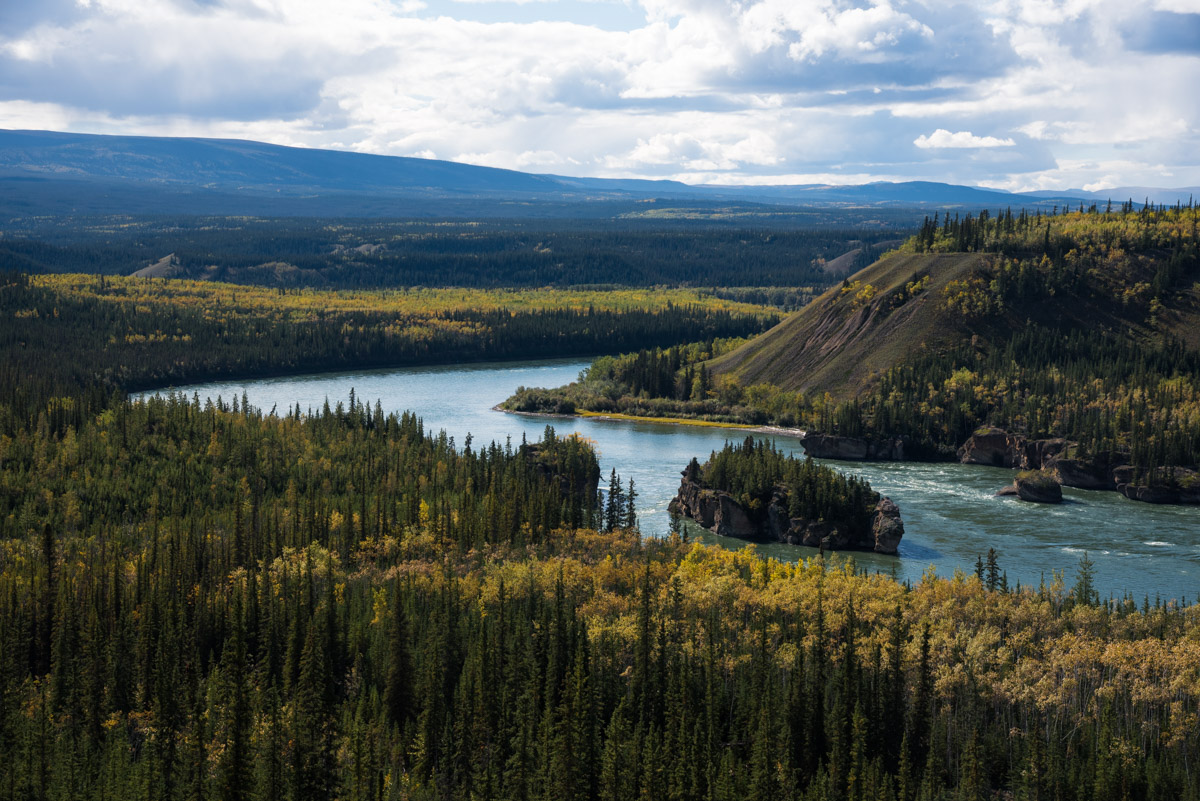 Five Finger Rapids am Yukon