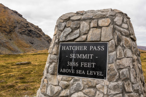 Hatcher Pass - Summit