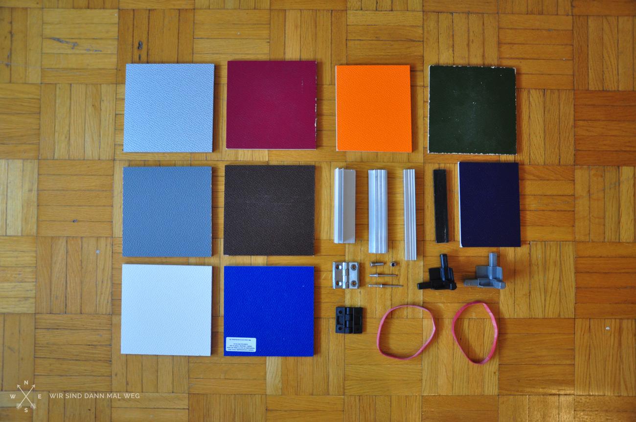 HZJ78 – Unser Innenausbau Vorbereitungen