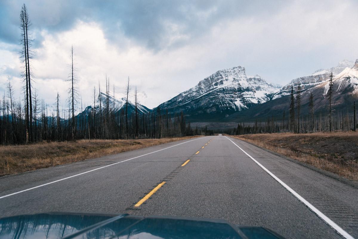 Icefields Parkway und der Okanagan Lake