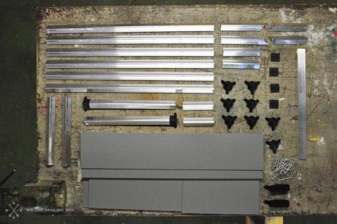 Material für die Radkastenbox