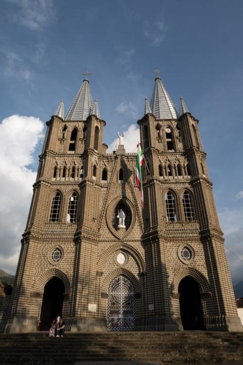 Die Neugotische Kathedrale Basilica Menor de la Inmaculada Conception