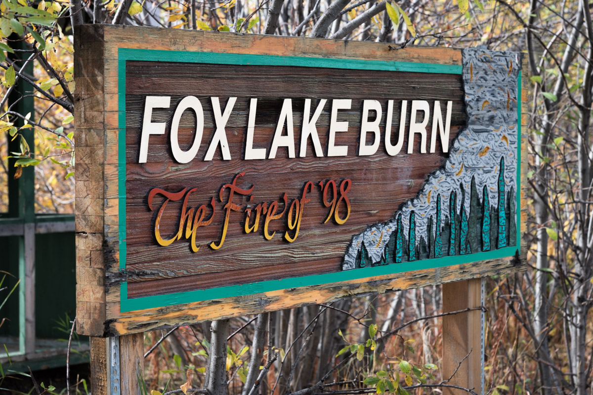 Fox Lake Burn - Klondike Highway