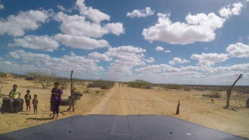 Strassensperren der Wayuu