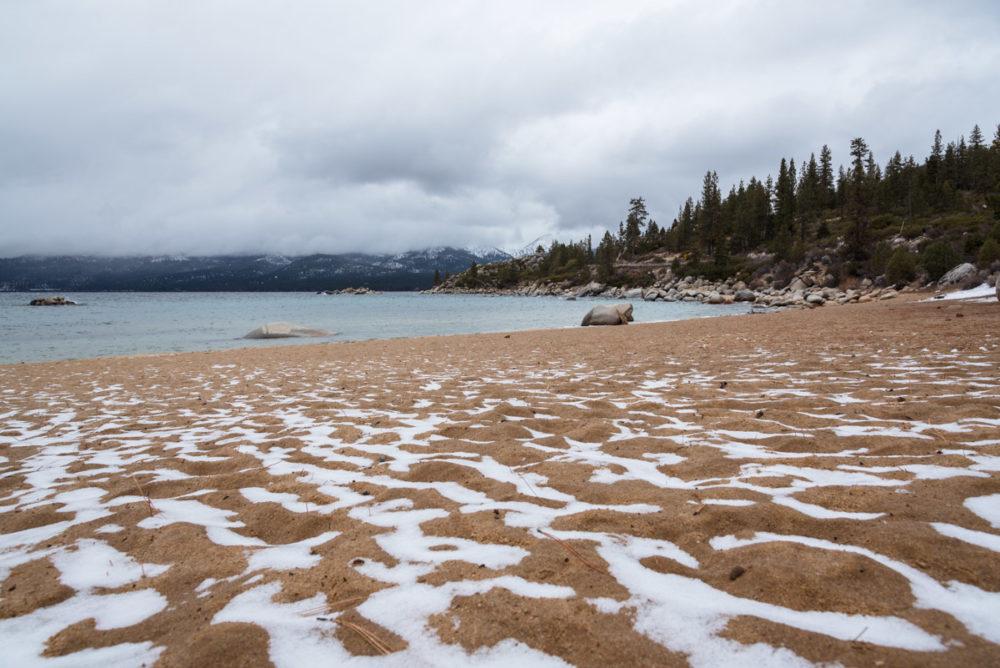 Schneesturm am Lake Tahoe