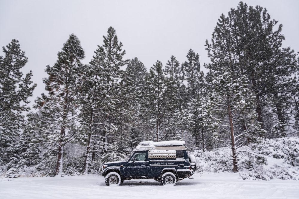 Weihnachtsmorgen am Lake Tahoe