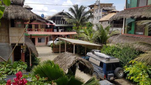 Campen bei La Casa in Mompiche