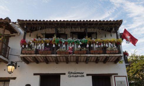 Weihnachtsdekoration in Mompox