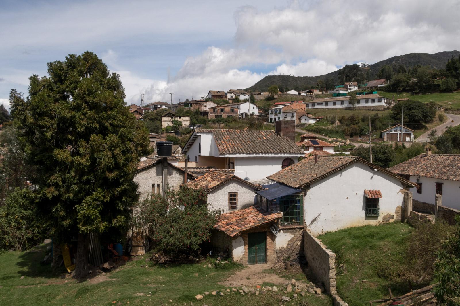 Monguí und Villa de Leyva