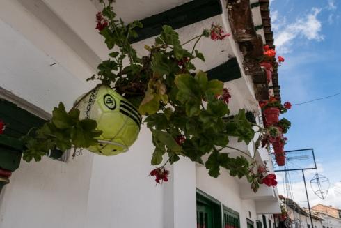 Kreativer Blumentopf
