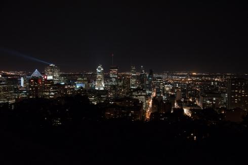Aussicht vom Mont Royal auf die Stadt